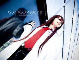 Kurisu Makise - Steins Gate by Shirokii