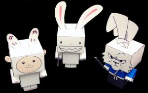 Follow the White Rabbits by cubeecraft