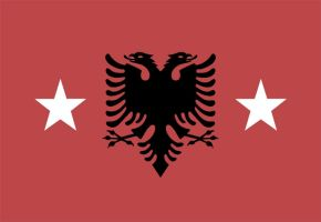 Albania state - new flag by Jackskeleton1987