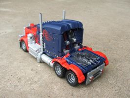 Movie Prime truck custom 3 by Unicron9