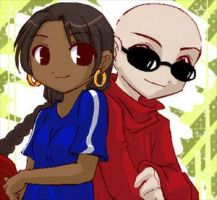 Numbuh 1 and 5  By: DSHina by KNDFansForever