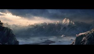 Snowy Mountains by Shamanik7