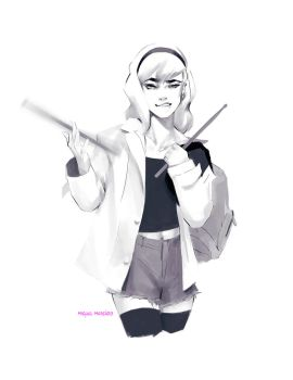 Gwen Stacy by merkymerx