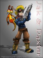 Jak and Daxter by KL45H