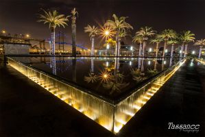 San Pedro Fountains by tassanee