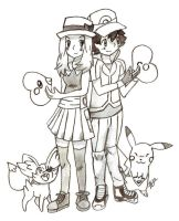 **Amourshipping Valentines Day 2014** by maikoforev5674