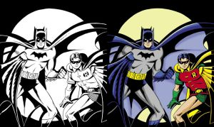 Classic Batman and Robin... by Hachiman1