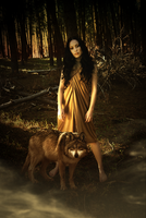 Wolf Mistress by artistry-and-imagery