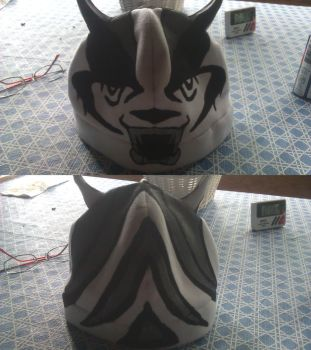 Badger hat by ChefCosplay