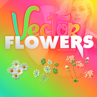 ++Vector Flowers by JustGlassLight