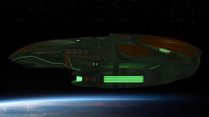 Romulan Raptor: Rooms and a bloody big file. by harroldsheep