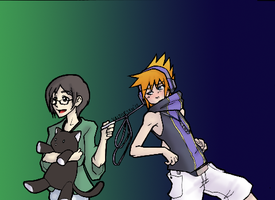 Let's go Shopping, Neku! by Nix501st