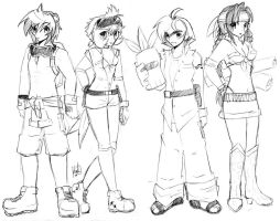 BK Nuts and Bolts Sketches by anime-dragon-tamer