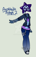 Aesthetic adopt 2 - Pastle Stars at Night by Cynical-Sushi