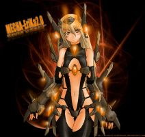 Mecha-Girl  EriKa-20 by MistraL-Northwind