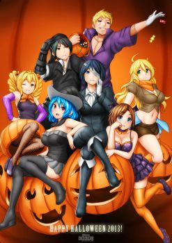 CR: Happy Halloween! (Trick or treat event part 2) by Erkaz
