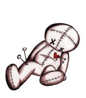 the voodoo doll by Naenia-Grieves