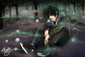 The Ghost King- Nico di Angelo by athena-says