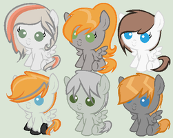 Breedable Foals batch 1 (OPEN 1 LEFT) by PrimeFighterQue
