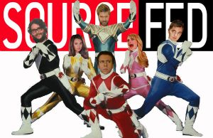 Mighty Morphin SourceFed Rangers by blunose2772