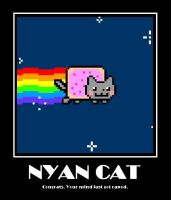 nyan cat by RussiaAddict