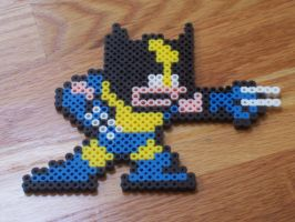 Wolverine Megaman style by simplyputmyself
