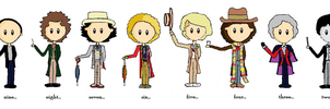 The Eleven Doctors by JustSoTypicallyMe