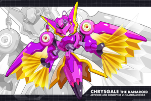 Megaman ZX Ultimus- Chrysgale the Danaroid by ultimatemaverickx