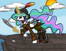 The Solar Pirate Queen by InkRose98
