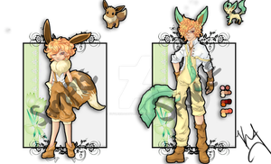 HatchableME :Leafeon(MALE): SOLD by KhymerrahApplebi