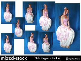 Pink Elegance Pack 6 by mizzd-stock