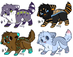 Puppy Adoptables: CLOSED! by Metals-Adopts