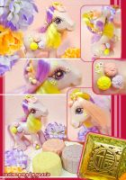 Custom Pony Oriental Mooncake by yuanie