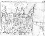 Storyboards for commercial (scene 8) by Vienna79