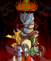 Chase's Firered Nuzlocke Arc1 Cover by Angsturbator