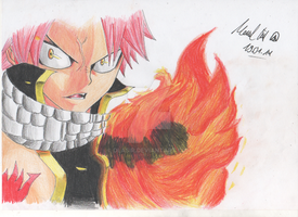 Natsu Dragneel from Fairy Tail by DlaSir