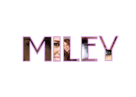 Miley Cyrus Text Png by tectos