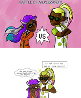 Viola and Jonquil by GlassesCat