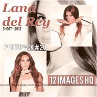 Lana del Rey PHOTOPACK (#20) by AgustinMonster28