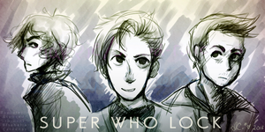 SuperWhoLock Commission by Isabella Cardenas by opiatepie