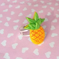 Pineapple Ring by CantankerousCupcake