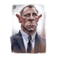 JAMES BOND (DANIEL CRAIG) by lorenzowalkes