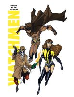 WATCHMEN Drafthouse Color by Hodges-Art