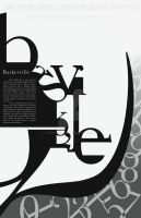 Typographic Poster Design - 2 by Fawkes881