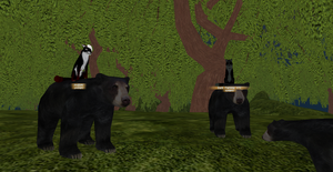We're so epic we can ride Bears! by youngni