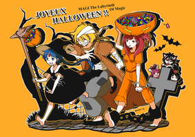 MAGIC HALLOWEEN by Erumi-n