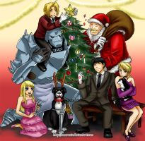 Fullmetal Christmas 2010 by Amarevia