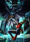 Batman Earth 2 and Robin by cric