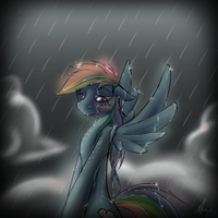 Raining Rainbow by Alumx