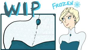 A(nother) Frozen fanart coming to your screens soo by xRhiRhix